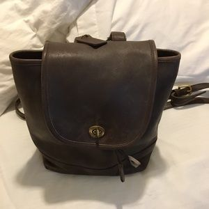 "Vintage Coach ""Backpack"" purse"